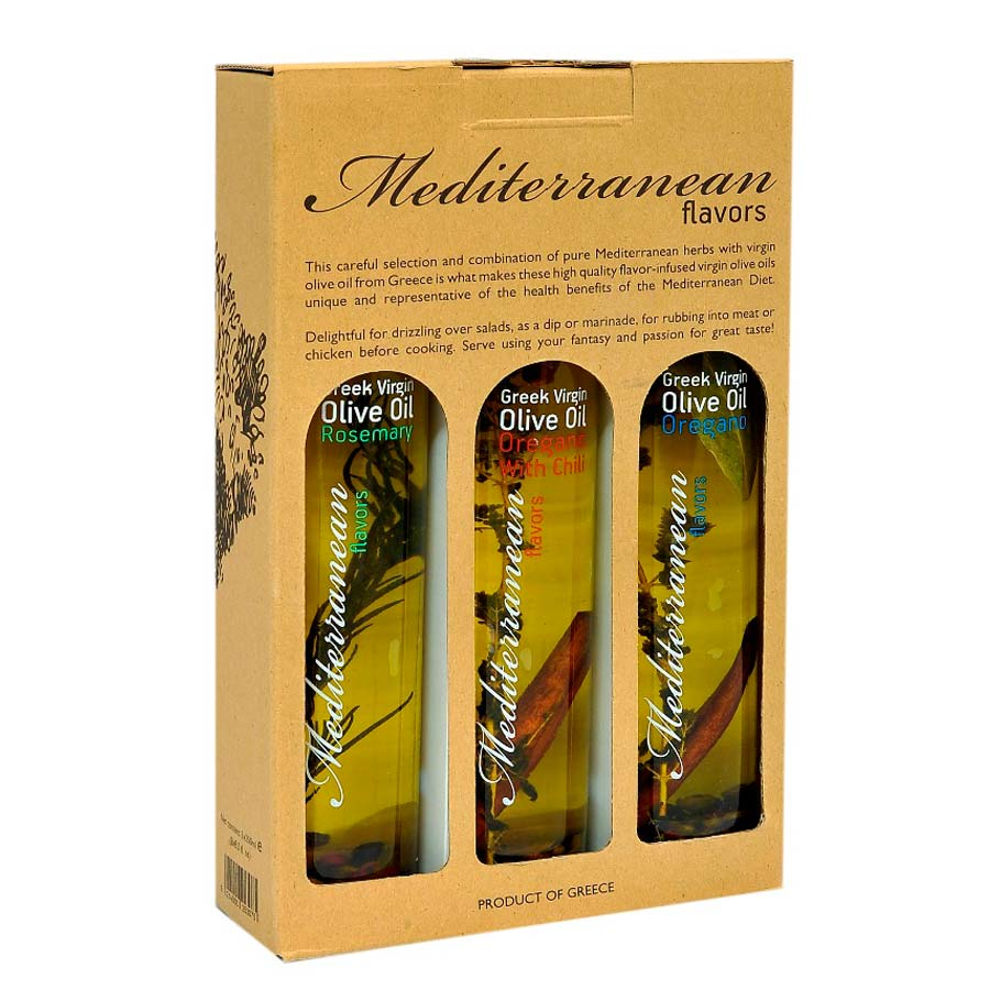 Mediterranean Flavors 3x250ml gift pack - Nature Blessed