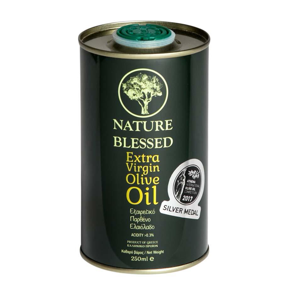 Nature Blessed Έξτρα Παρθένο Ελαιόλαδο 250ml Μεταλλικό Δοχείο - Nature Blessed