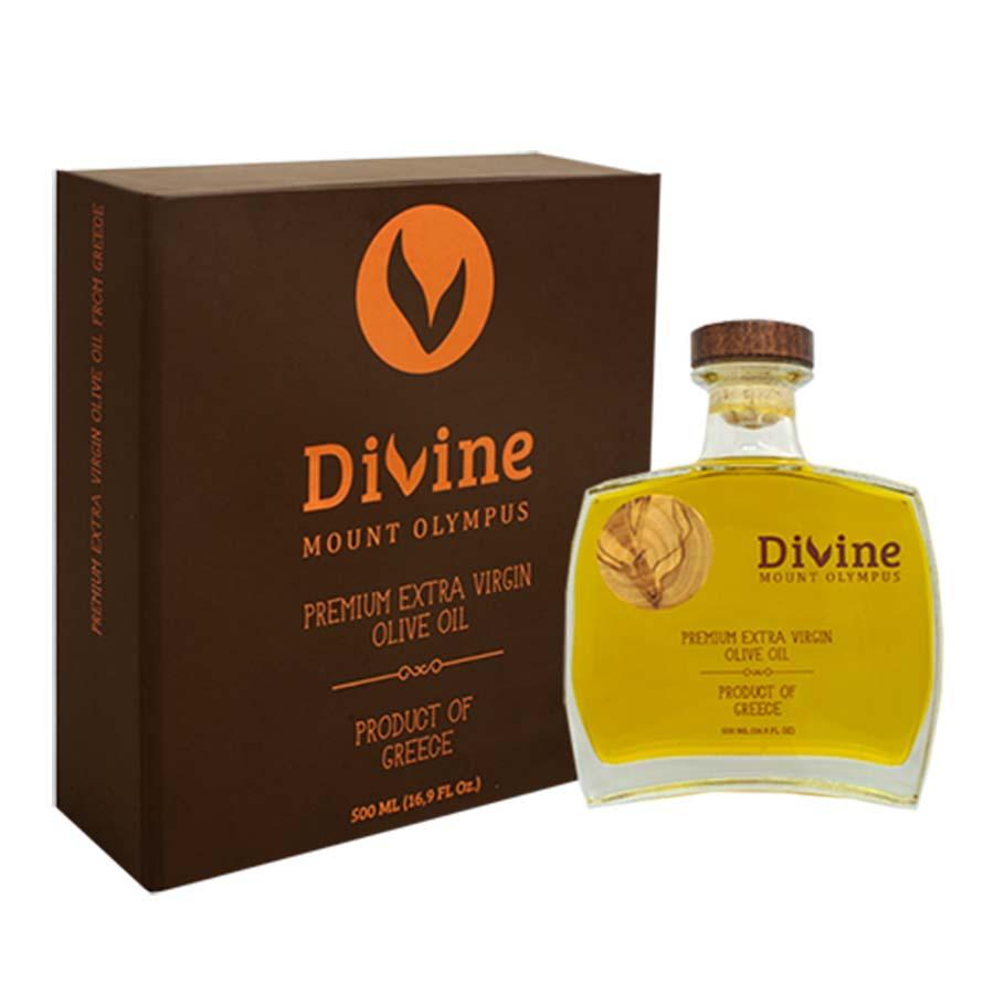Divine Mount Olympus Έξτρα Παρθένο Ελαιόλαδο 500ml - Nature Blessed