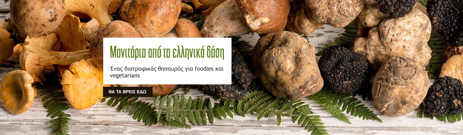 Μανιτάρια από τα ελληνικά δάση