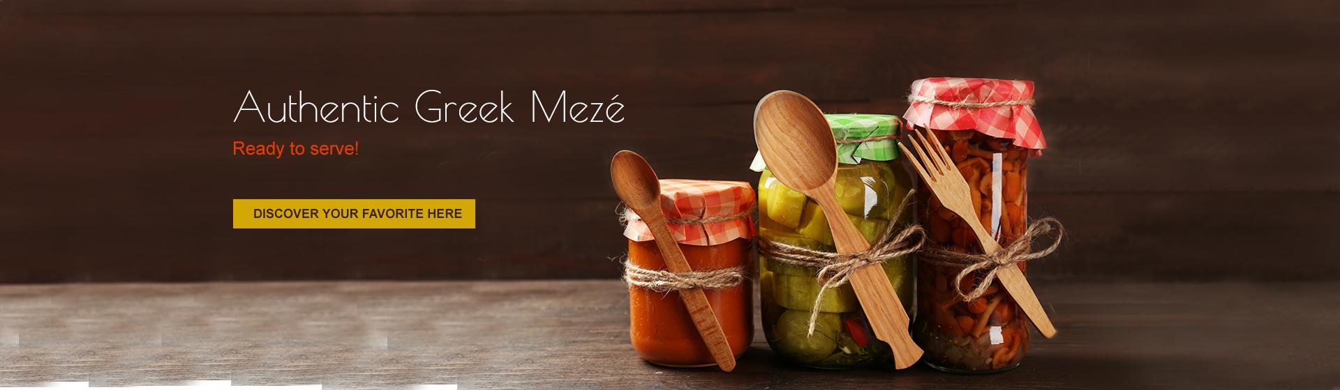 Authentic Greek Mezé