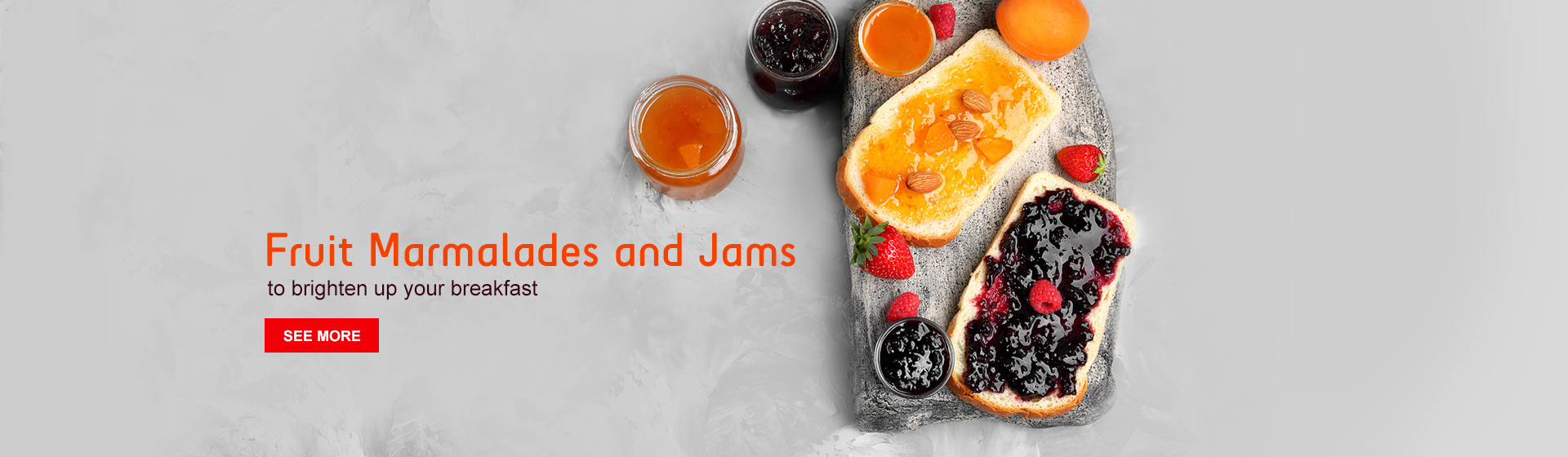 Fruit Marmalades and Jams