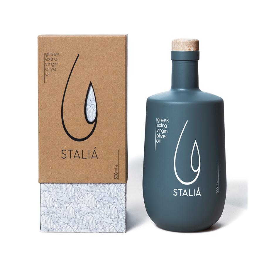 Εξαιρετικό Παρθένο Ελαιόλαδο Κορωνέικη 500ml Συσκευασία Δώρου| Stalia