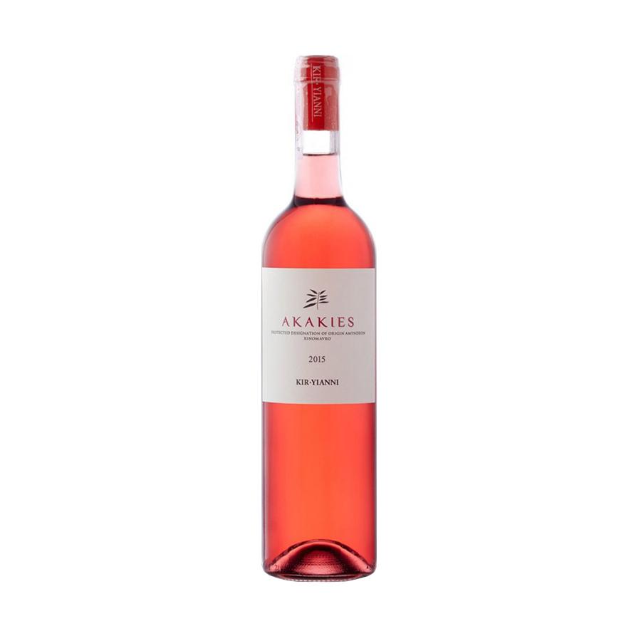 Ακακίες | ΠΟΠ Αμύνταιο Φλώρινα Ξινόμαυρο Ήπιος Ροζέ (2017) 750ml | Κυρ Γιάννη