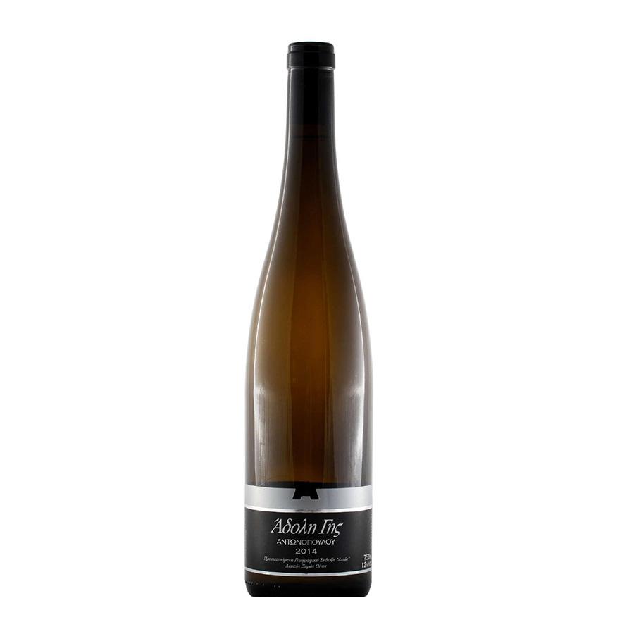 Άδολη Γης | ΠΓΕ Αχαϊα Λαγόρθι Ασπρούδα Chardonnay Ξηρός Λευκός (2017) 750ml | Αμπελώνες Αντωνόπουλου