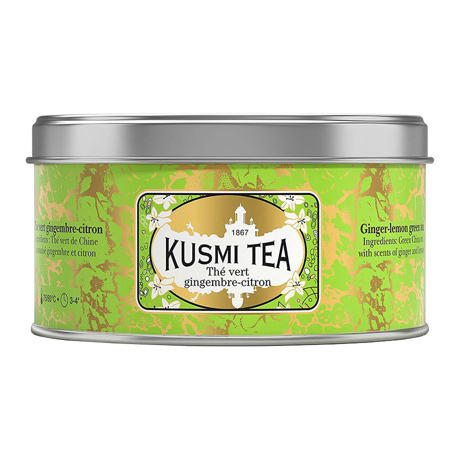 Τσάι Ginger Lemon Green Tea 125g - Kusmi Tea