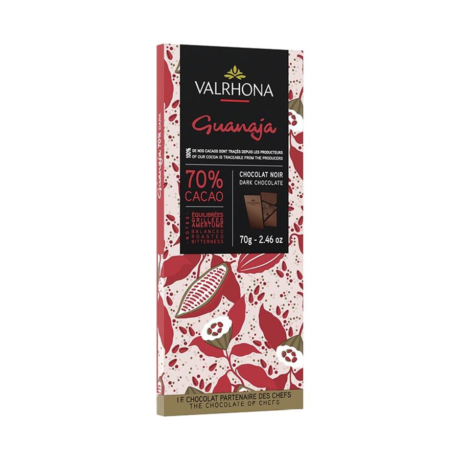 Μαύρη Σοκολάτα Guanaja 70% 70g | Μπάρα Πικρής Σοκολάτας | Valrhona
