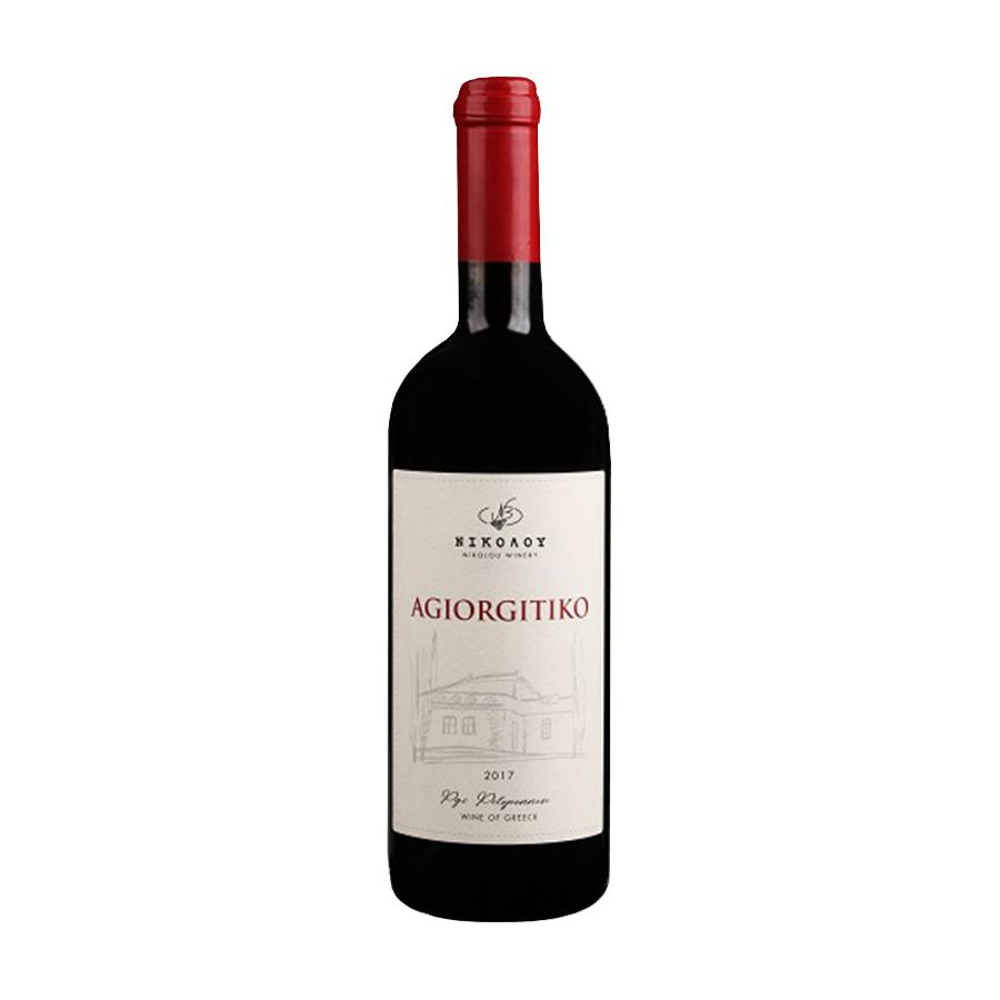 Agiorgitiko Nikolou 2017   Dry Red Aged Wine PGI Peloponnese