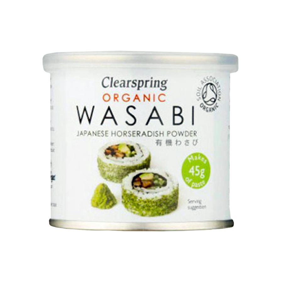 Βιολογικό WASABI Καυτερό Αγριοράπανο σε Σκόνη 25g | Clearspring