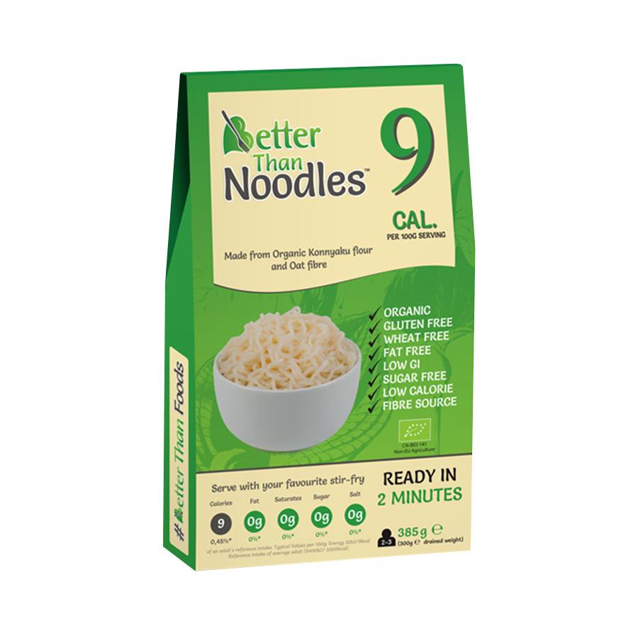 Noodle Style από Ρίζα Konjac 385g | Βιολογικό Γεύμα Χωρίς Γλουτένη | Better Than