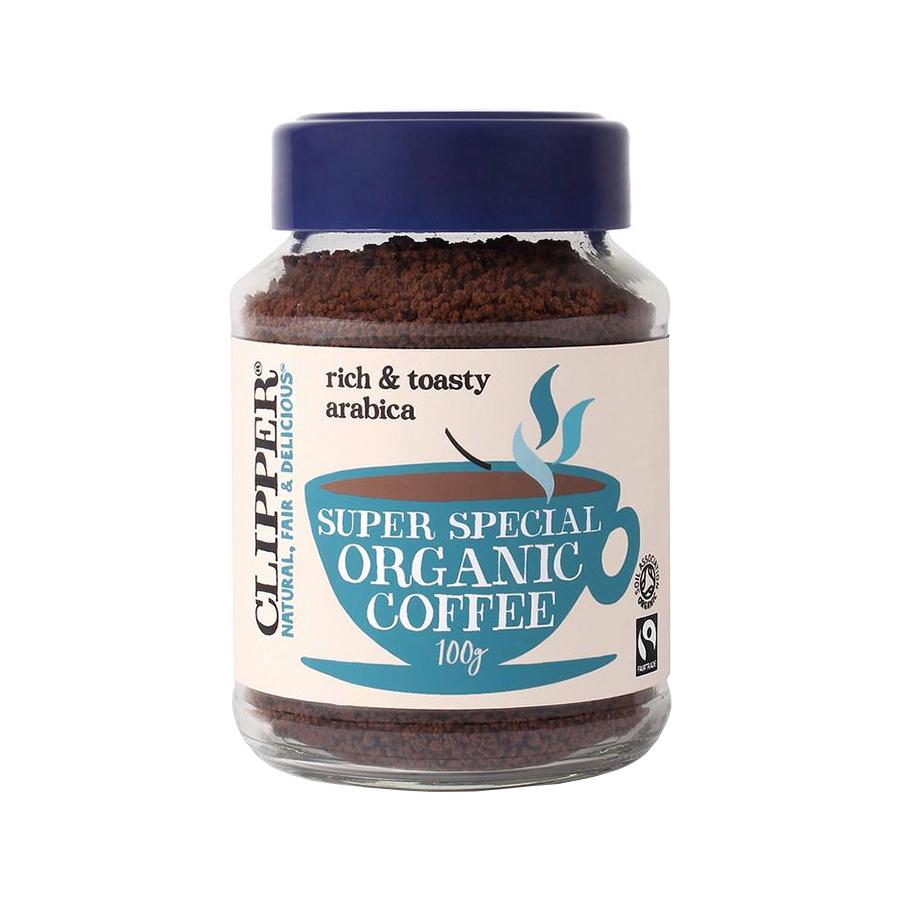 Βιολογικός Στιγμιαίος Καφές Arabica Med Roast Freeze Dried Χωρίς Ζάχαρη 100g | Clipper