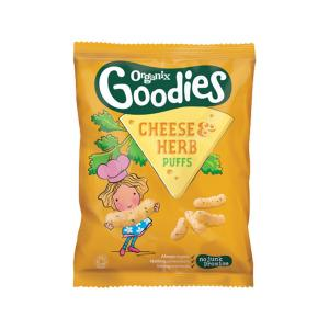 Goodies Cheese & Herb Puffs 15g - Organix