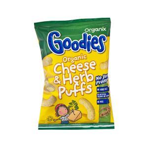 Σνακ Καλαμπόκι με Τυρί & Μυρωδικά 15g | Goodies Organix