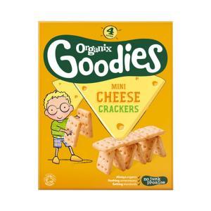 Goodies Cheese Crackers 80g - Organix