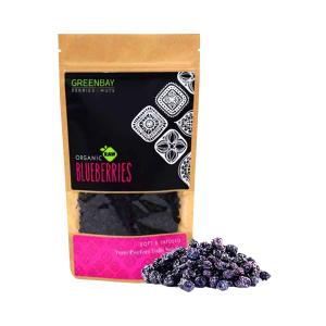 Raw Dried Blueberries BIO 125g - Berries & Nuts