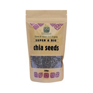 Βιολογικοί Σπόροι Chia 250g | GreenBay