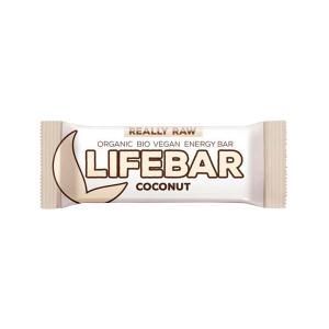 Μπάρα Ενέργειας Καρύδα 47g | Ωμό Βιολογικό Σνακ Χωρίς Γλουτένη | Lifefood