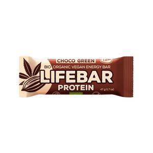 Μπάρα Πρωτεΐνης Σοκολάτα και Πρωτεϊνη Κάνναβης 47g | Βιολογικό Σνακ Χωρίς Γλουτένη | Lifefood
