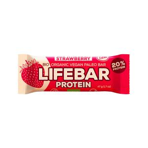 Raw Protein Bar with Strawberry 47g - Lifefood