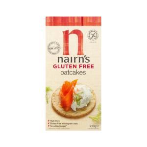 Wholegrain Oat Biscuits Gluten Free 213g - Nairn's