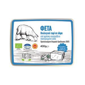 Βιολογική φέτα ΠΟΠ  400 g | Παραδοσιακό Ελληνικό Τυρί από Αιγοπρόβειο Γάλα | Nostos Fresh