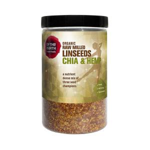 Raw Milled Linseed, Chia and Hemp 180g - Of the Earth
