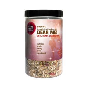 Dear Me Mix with Chia, Hemp, Goji Berries and Cranberries 200g - Of The Earth