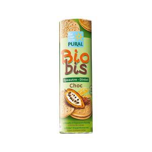 Spelt Biscuits with Chocolate Cream BIO 300g - Pural