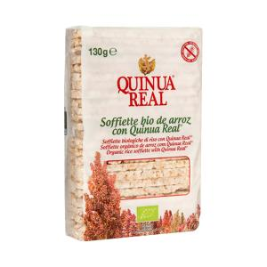 Whole Rice Cakes with Quinoa BIO 130g - Quinua Real