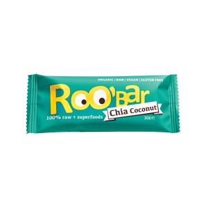 Raw Bar with Chia and Coconuts 30g - Roo Bar