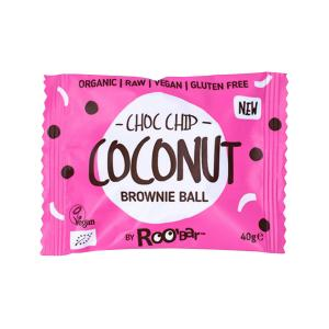 Brownie Ball Choc Chip and Coconut 40g - Roo Bar