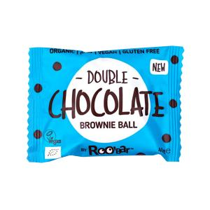Brownie Ball Double Chocolate 40g - Roo Bar