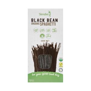 Σπαγγέτι από Φασόλια Μαύρα 200g | Βιολογικό Ζυμαρικό Χωρίς Γλουτένη | Slendier