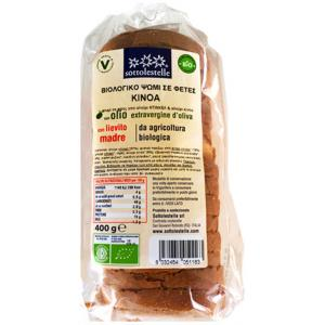 Βιολογικό Ψωμί Ντίνκελ με Κινόα σε Φέτες 400gr | Sottolestelle