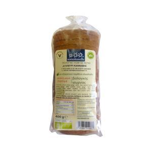 Βιολογικό Ψωμί Σταρένιο με Κάνναβη σε Φέτες 400gr | Sottolestelle