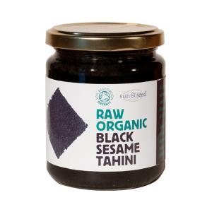 Ωμό Ταχίνι από Μαύρο Σουσάμι 250g   Βιολογικό Ταχίνι Χωρίς Γλουτένη   Sun & Seed