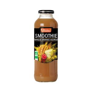 Smoothie with Mango Pineapple and Acerola 500ml - Vitabio