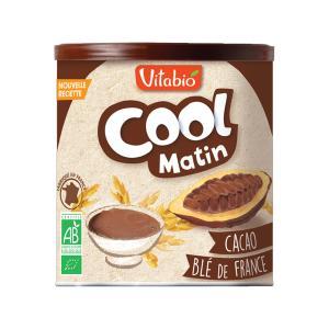 Cool Matin | Βιολογικό Ρόφημα Σοκολάτας με Δημητριακά  σε Σκόνη 500g | Vitabio