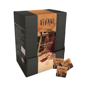 Σοκολατάκια Μαύρης Σοκολάτας 71% Κακάο σε Χάρτινη Συσκευασία (200x5g) 1kg | Βιολογικά Σοκολατάκια | Vivani