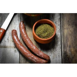 Βουβαλίσιο  Ριγανάτο Λουκάνικο 250g | Gourmet Ελληνικό Αλλαντικό| Μπόρας