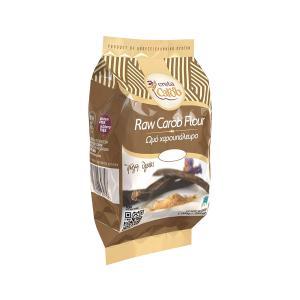 Raw Carob Flour 300gr | Natural Sweetener Gluten Free | Creta Carob