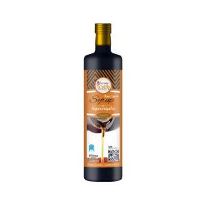 Βιολογικό Χαρουπόμελο Ωμό 350g | Σιρόπι από Κρητικά Χαρούπια Χωρίς Γλουτένη | Creta Carob