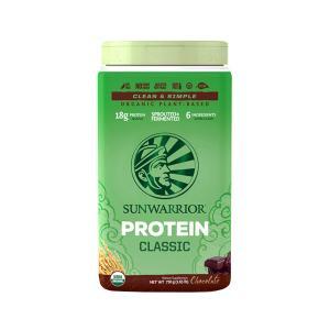 Protein Classic Chocolate 750g | Organic Plant-Based Protein Gluten Free | Sunwarrior