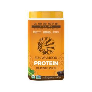 Μείγμα Πρωτεϊνών Classic PLUS Σοκολάτα 750g |Βιολογική Πρωτεϊνη Φυτική Χωρίς Γλουτένη | Sunwarrior