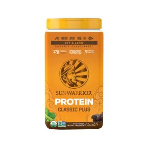 Protein Classic PLUS Chocolate 750g |Organic Plant-Based Protein Gluten Free | Sunwarrior