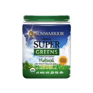 Ormus SuperGreens Natural 226g | Organic Gluten Free Probiotic Green Superfood  Sunwarrior