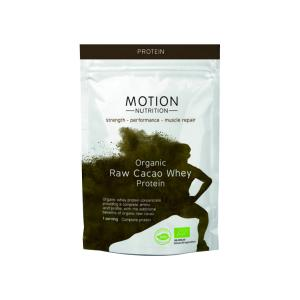 Organic Whey Protein Raw Cacao (1 serving - 30g) | Motion Nutrition