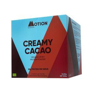 Βιολογική Πρωτεΐνη Ορού Γάλακτος Whey Κακάο Χωρίς Γλουτένη 360g | Motion Nutrition