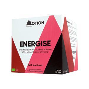 Vegan Μείγμα Υπερτροφών για Ενέργεια Πριν την Προπόνηση Energise 180g | Motion Nutrition