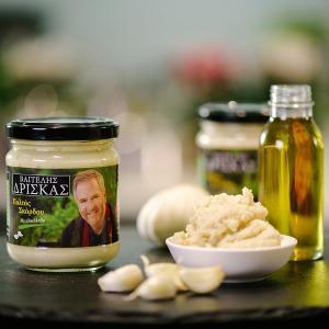 Garlic Puree with Olive Oil 200g | Vangelis Driskas